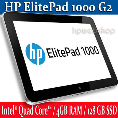 HP ElitePad 1000 G2 Tablet + Keyboard Productivity case + USB P/A bundle 2in1