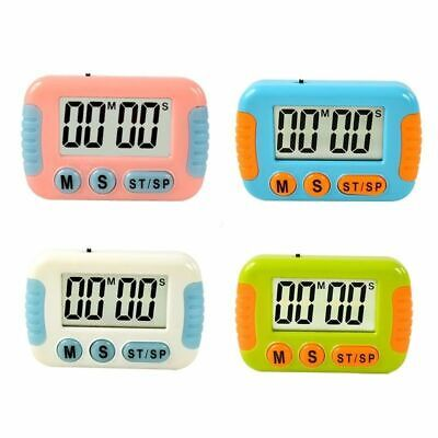 Clear Loud Large Alarm Magnetic Kitchen LCD Digital Cooking Count Down Up Timer