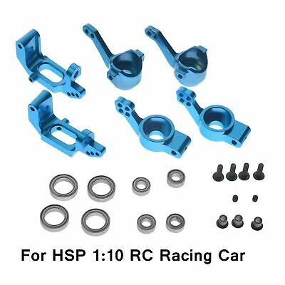 HSP 1:10 RC Racing Car Upgrade Parts Alloy Front Rear Hub Carrier Steering NEW