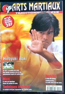 Arts Martiaux Traditionnels n°54; Technique invisible/ Hiroyuki Aoki/ Hapkido