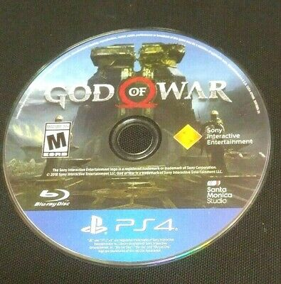 God of War (Sony PlayStation 4, 2018)(DISC ONLY) #21004
