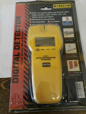 Digital Multi-Function Stud, Cable And Pipe Finder/Detector With Display