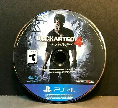 Uncharted 4: A Thief's End  (PS4) DISC ONLY #16740