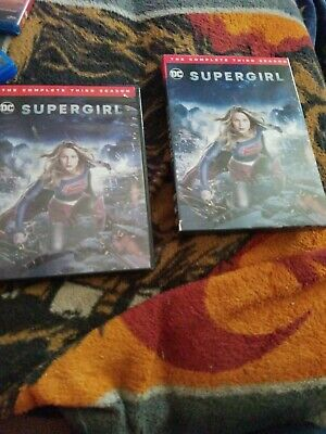 Supergirl: The Complete Third Season 3 (DVD, 2018)