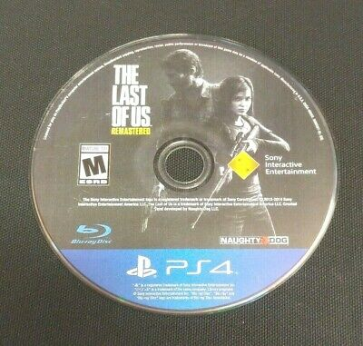 The Last of Us Remastered (Sony PlayStation 4, 2014)(DISC ONLY) #21024
