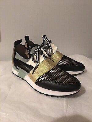 6e1c690702a STEVE MADDEN ARCTIC Green Multi Cutout Athletic Casual Sneakers ...