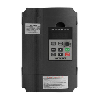 Universal VFD Frequency Speed Controller 2.2KW 12A 220V AC Motor Drive C5V9