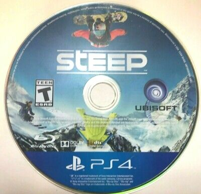 Steep (Sony PlayStation 4, 2016)(DISC ONLY) #21038