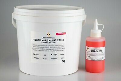 30A Liquid Silicone Rubber Mould Mix - 5KG
