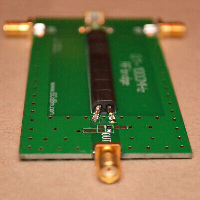 PCB WITH ASSEMBLED components-tested for Arduino Antenna Analyzer 1
