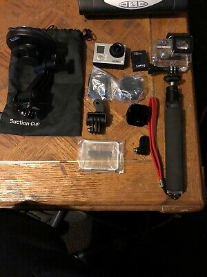GoPro HERO3 WHITE Edition Action Camera CHDHE-301 + Accessories