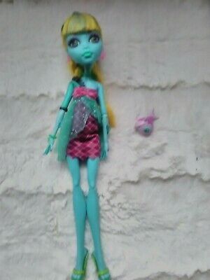 Monster High doll , Lagoona 13 wishes