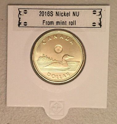 CANADA 2016 New LOONIE (directly from mint roll)