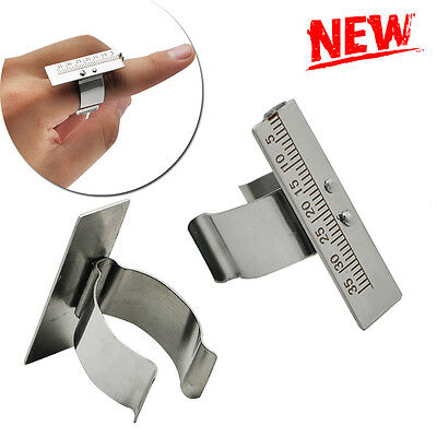 New Dental Finger Ruler Span Measure Scale Endodontic Instrument Dentist Useful
