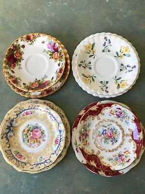 Royal Albert side plate  saucer old country roses Windermere Valentine Canterbu