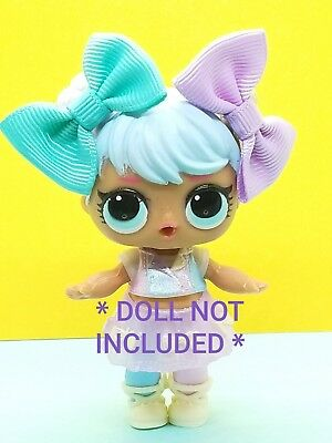 🎀 LOL Surprise Dolls ACCESSORIES Custom outfit  * 6 BOWS* CLOTHES LOT