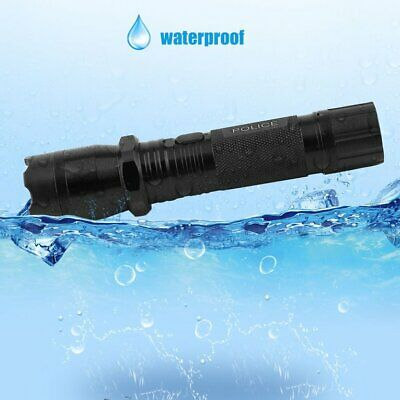 Portable Ultra Bright Waterproof Rechargeable LED Torch Tactical Flashlight B2