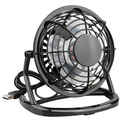 Mini Desk Fan Small Super Quiet Personal Air Cooler USB Power Portable Table Fan