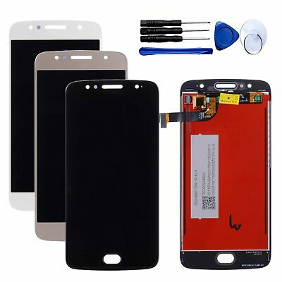 For Motorola Moto G5S XT1792 XT1793 XT1794 LCD Display Touch Screen Digitizer BK