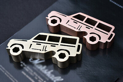 Brass Red Copper Jeep model Bottle Opener Fidget Toy Collection