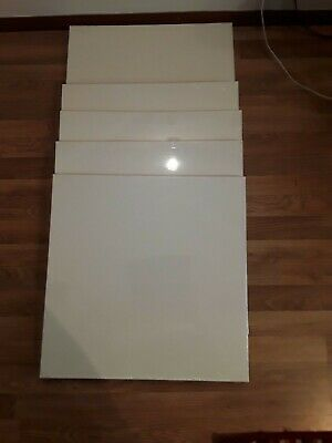 6 pack 60x90 cm linen Blank Canvas