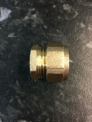 15mm Brass Compression Stop End and Spare Olives