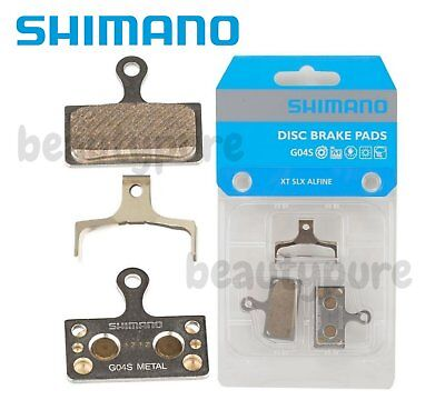 ca1eb3cc54f SHIMANO DEORE XT METAL PAD G04S WITH SPRING M8000 BR-M8000 Y8MY98010 ...