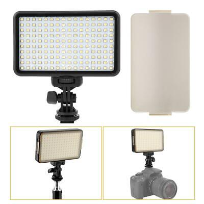 PAD160 Dimmable LED Video Fill Light Lamp Kits For Digital SLR Camera Camcorder