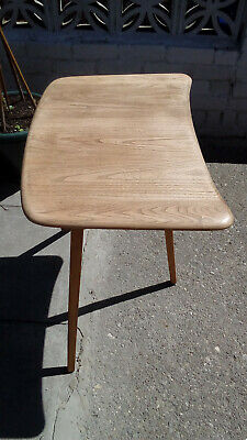 Ercol Windsor Beech & Elm Blonde Plank Top End Dining Table