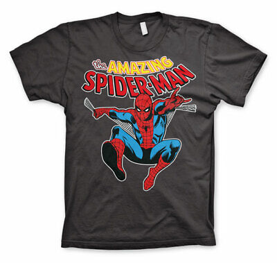 Official Licensed Marvel - The Amazing Spiderman Men's T-Shirt S-XXL Sizes