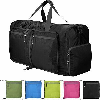 70L Unisex Large Waterproof Foldable Portable Travel Duffle Bag Luggage Bag Gym
