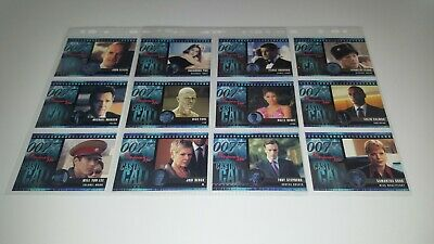 007: Die Another Day Casting Call Trading Card Chase Set C1-C12 Rittenhouse 2002
