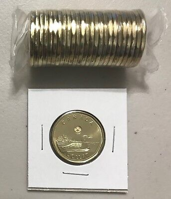 CANADA 2018 New $1 LOONIE ORIGINAL COMMON LOON (UNC Directly from mint roll)