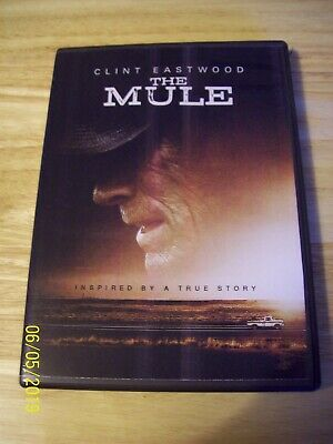 The Mule..clint Eastwood....inspired By A True Story...dvd...2018... R.