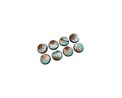 Mosaic Bases Round 32mm (4 pieces) | Resin HD, Unpainted | Warhammer BS-32-001