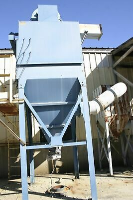 Wheelabrator 48WCC.M0D36Pulse Cartridge Type 40Hp 1 Discharge Outdoor Dust Colle