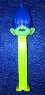 Collectable Pez  Sweet Dispenser -  Dreamworks Blue Troll  (#Oo07)