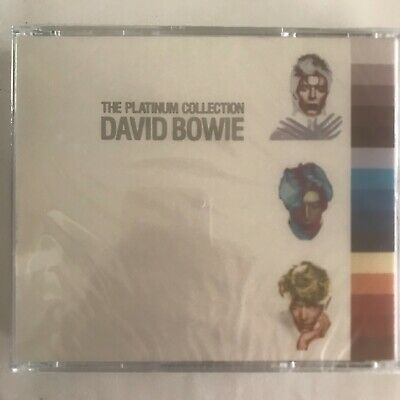 The platinum collection David Bowie 3 cd neuf sous blister