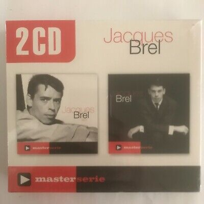Jacques Brel vol 1 & 2  2 cd neuf sous blister