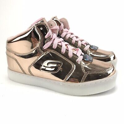 YOUTH GIRL'S SKECHERS S Lights Energy Lights Dance N Dazzle