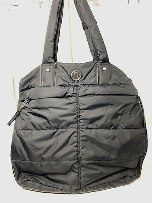 f2fb111b176 Lululemon Fast In Flight Black Bag Multi Stage State Of Mind Interior Carry  On