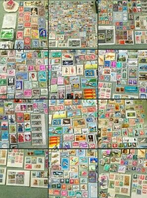*Used* Amazing Joblot Mixed World Vintage Stamps 100+ Collectors Antique Shops !