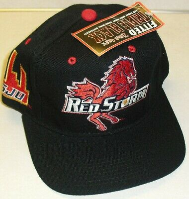 NCAA St John/'s University Red Storm Game Day Fitted Caps Hats