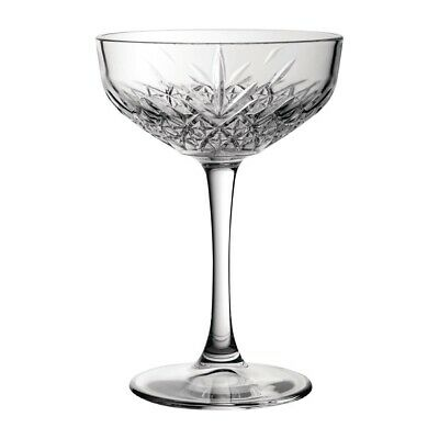 Utopia Timeless Vintage Champagne Saucers 270ml (Set of 12) [DY301]