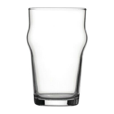 Utopia Nonic Beer Glasses 280ml CE Marked (Set of 48) [DB553]
