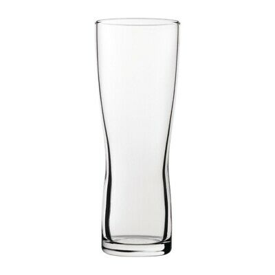 Utopia Aspen Nucleated Toughened Beer Glasses 280ml CE Marked (Set of 24) [CY285