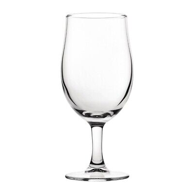 Utopia Nucleated Toughened Draught Beer Glasses 570ml CE Marked (Set of 12) [CY3