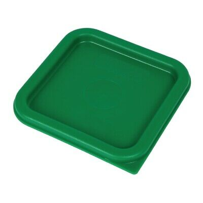 Cambro Camsquare Food Storage Container Lid Green [DB014]