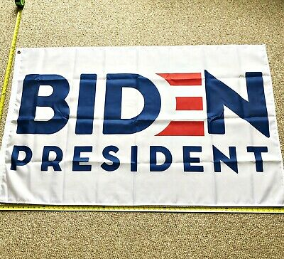 Joe Biden Flag FREE SHIPPING WHITE Biden for president 2020 3x5' Vice President