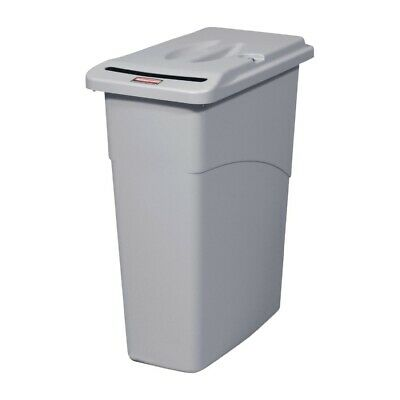 Rubbermaid Slim Jim Confidential Document Container with Lid 87Ltr [CT773]